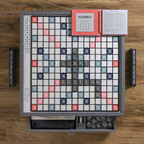 Scrabble Giant Deluxe Designer