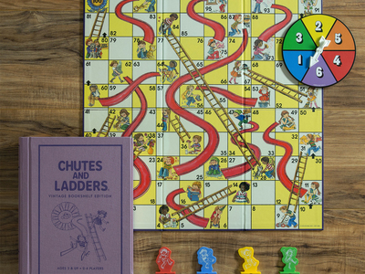 photo of Chutes & Ladders Vintage Bookshelf by Touch Of Modern