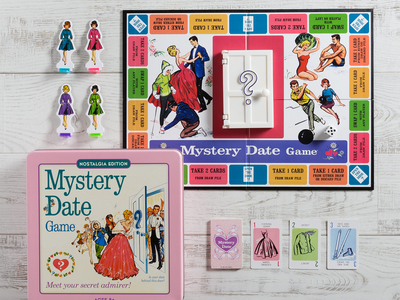 photo of Mystery Date Nostalgia Tin by Touch Of Modern
