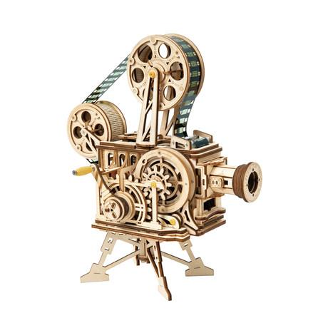 DIY Mechanical Gear 3D Wooden Puzzle // Vitascope