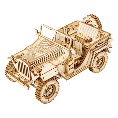 Scale Model Vehicle // Army Jeep