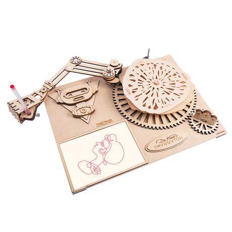 Da Vinci's timing // Drawing Programming // The Robot