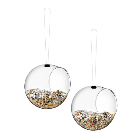 Mini Bird Feeders // 2 Pieces