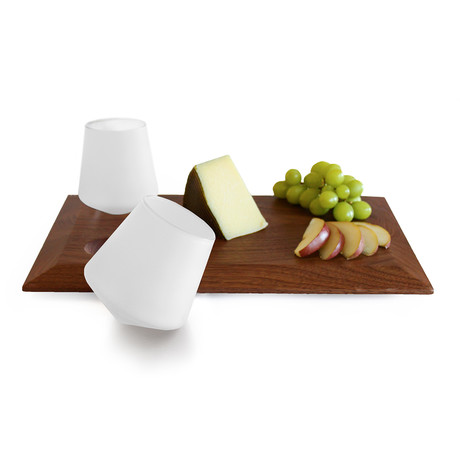Wine Cheese Board Set // Frosted