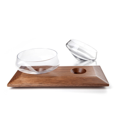 Olive Serving Set (Clear)