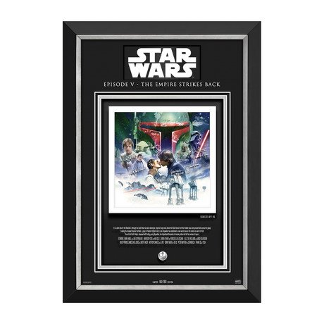 The Empire Strikes Back // Limited Edition Display // Etched Facsimile Signatures