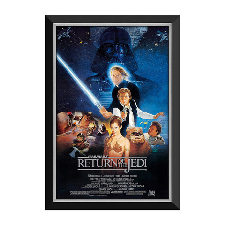 Star Wars Ep VI Return Of The Jedi // Framed Canvas