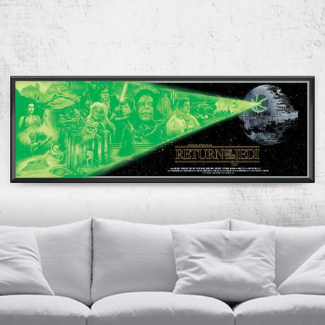 "Star Wars Alternative Movie Poster // Return of the Jedi (24""W x 9""H)"