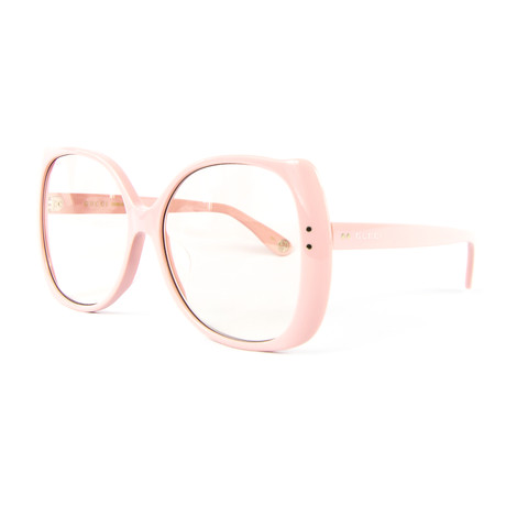 Women's Butterfly Sunglasses // Pink