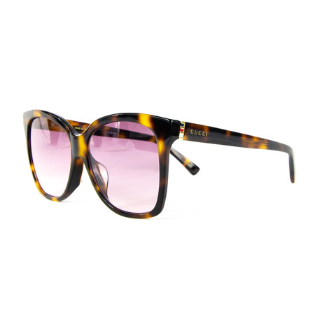 Women's Cat Eye Sunglasses // Violet + Havana