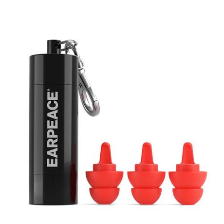 EarPeace S // Safety Ear Plugs // Black Case (Single Pack)