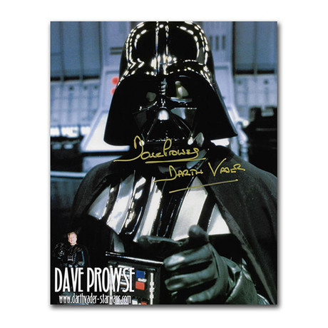 David Prowse // Pointing // Autographed 8X10 Photo