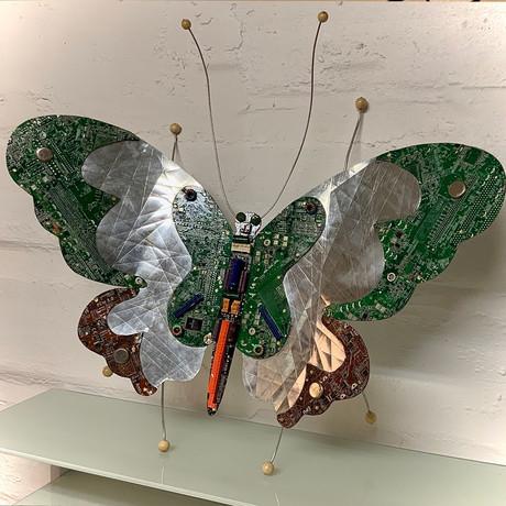 ButterByte Butterfly-Large Wall Art