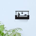 Balcony Key Shelf // His (Rectangular)