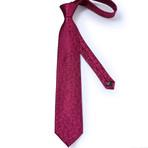 Melrose Silk Tie // Maroon