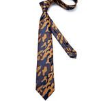 Cassius Handmade Silk Tie // Camo