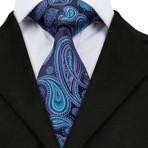 Orlan Silk Tie // Navy