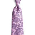 Santino Silk Tie // Pink