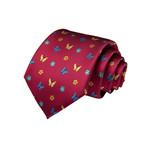 Matia Silk Tie // Red