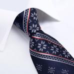 Winter Silk Tie // Navy