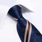 Hugh Silk Tie // Navy