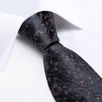 Rivero Silk Tie // Charcoal