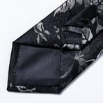 Faron Silk Tie // Black