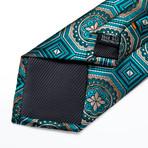 Brooks Handmade Silk Tie // Teal