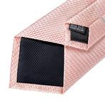 Cristiano Silk Tie // Pink