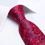 Prince Silk Tie // Red