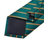 Jayden Silk Tie // Teal