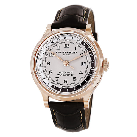 Baume & Mercier Capeland Worldtimer Automatic // A10107 // Store Display