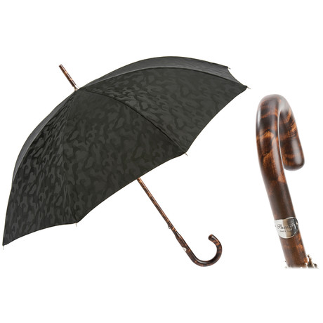 Camouflage Long Umbrella // Black