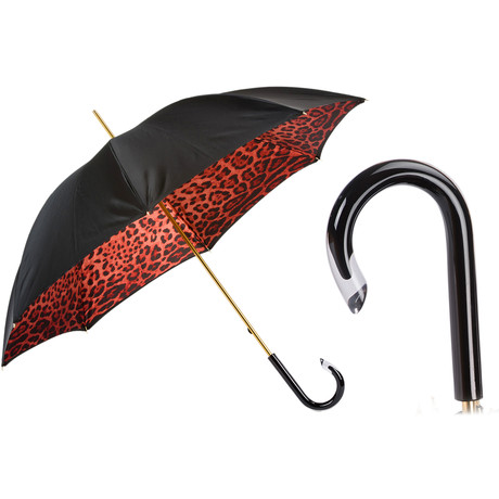 Red Leopard Umbrella