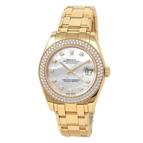 Rolex Datejust Pearlmaster Automatic // 81338 // Random Serial // Pre-Owned