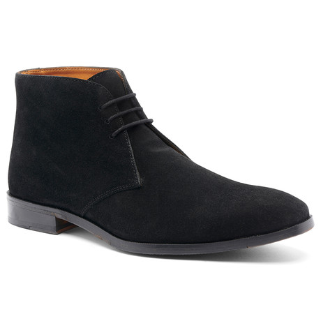 Corazon Chukka Boot // Suede // Black (US: 7)