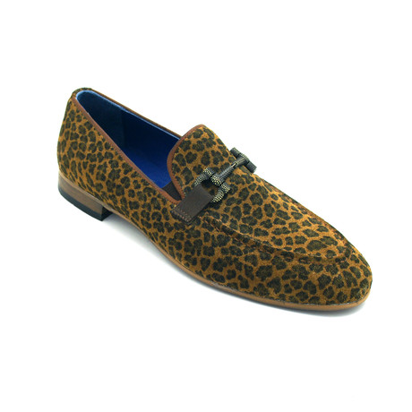 Michelan Dress Shoes // Leopard (Euro: 39)