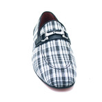 Aldan Dress Shoes // Black + White (Euro: 44)