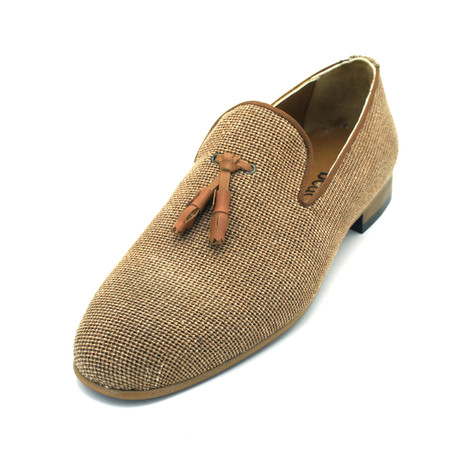 Alcanson Dress Shoes // Brown (Euro: 39)