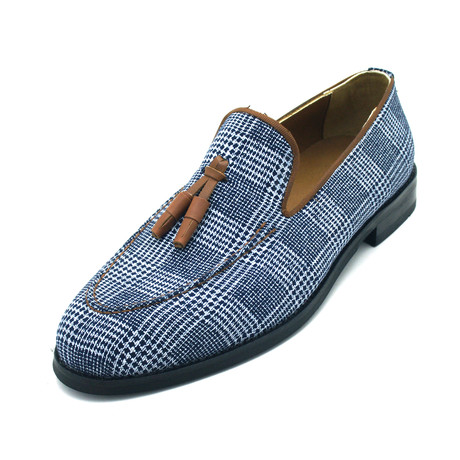 Bardellon Dress Shoes // Denim Blue (Euro: 39)