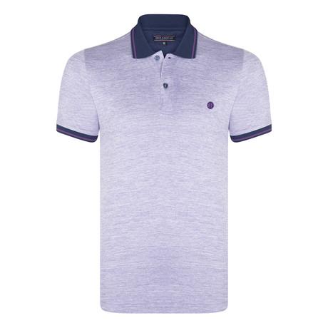 Adan Short Sleeve Polo Shirt // Purple (XS)