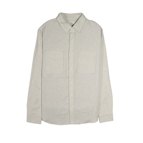 Aetna Shirt // Chalk + Herringbone (S)