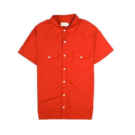 Maricopa Shirt // Blood Orange (S)