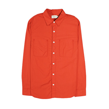 Aetna Shirt // Blood Orange (S)
