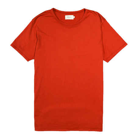 Basis Tee // Blood Orange (S)