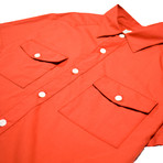 Maricopa Shirt // Blood Orange (M)