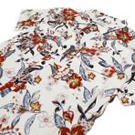 Maricopa Shirt // Pearl Hibiscus (S)