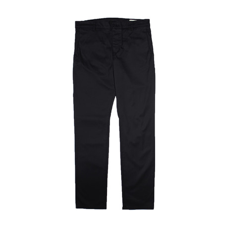 Slim Stretch Chino // Black (29WX32L)
