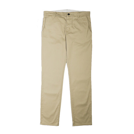 Slim Stretch Chino // Khaki (29WX32L)