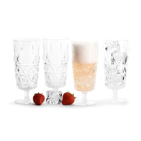 Picnic Champagne Glass // Set of 4